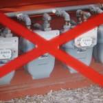 Gas smart meters