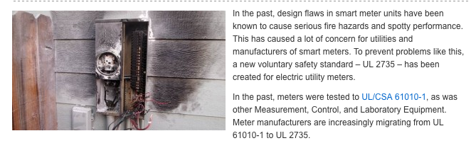 Smart Meter Fires and Explosions – EMF Safety Network