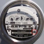 analog electric meter
