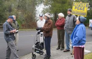 Senior community chases off Smart Meter installer