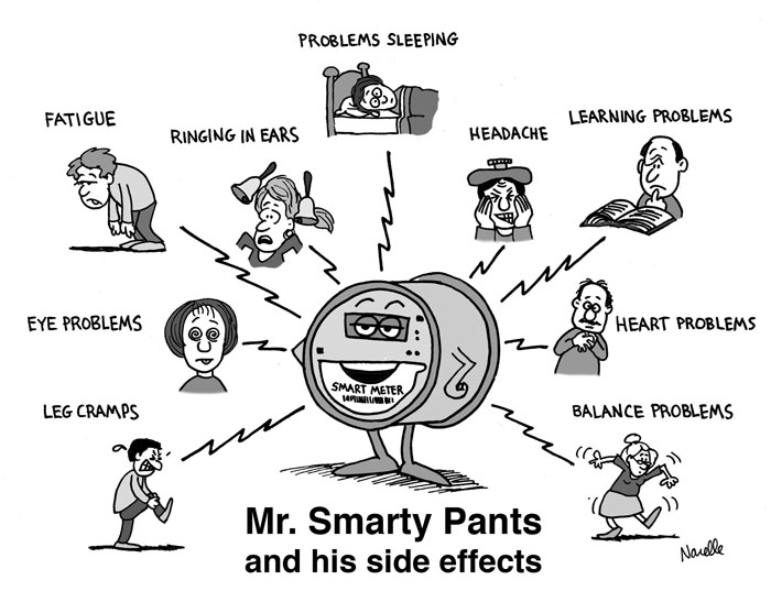 SMART meter health effects
