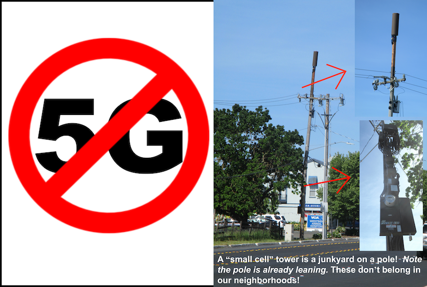 "How to oppose 5G ""small cell"" towers"